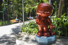 Парад Моники - парк Trianon - Сан-Паулу стоковое фото
