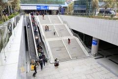 Парадная лестница и эскалатор Стоковые Изображения RF