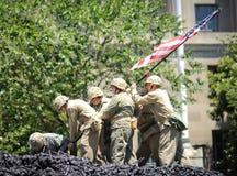 парад независимости дня Стоковые Изображения