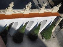 Парадные ворота замка Mikulov Стоковое Изображение RF