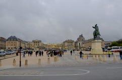 Парадный вход дворца Версаль Стоковое Изображение RF
