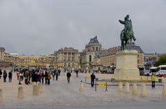 Парадный вход дворца Версаль Стоковое фото RF