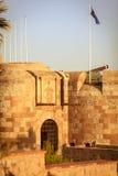 Парадный вход замка Стоковое Фото