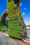 Парадный вход парка цветка Стоковая Фотография