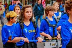 Парад 2016 дня ветеранов Стоковая Фотография RF