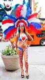Парад дня Пуэрто-Рико Стоковые Изображения