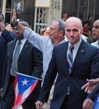 Парад дня Puerto Rican Стоковая Фотография RF