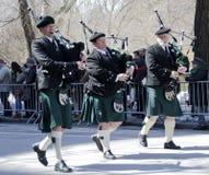 Парад дня ` s Нью-Йорка St. Patrick Стоковое Фото