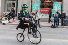 Парад дня St. Patrick в Торонто Стоковое Изображение