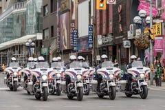 Парад дня St. Patrick в Торонто Стоковая Фотография