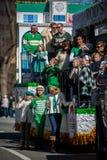 Парад дня St. Patrick Стоковое Изображение RF