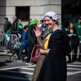 Парад дня St. Patrick Стоковые Изображения