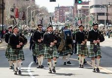Парад дня St. Patrick Стоковые Изображения RF