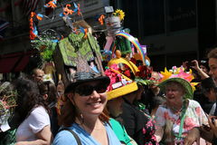 Парад 2017 пасхи Стоковая Фотография RF