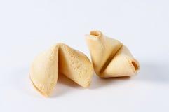 Пара печенья с предсказанием Стоковая Фотография RF