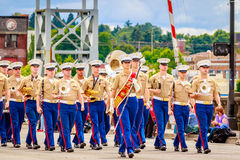 Парад 2016 Портленда грандиозный флористический Стоковая Фотография RF