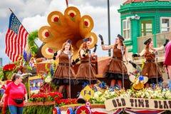Парад 2016 Портленда грандиозный флористический Стоковое Фото