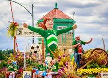 Парад 2016 Портленда грандиозный флористический Стоковые Фотографии RF