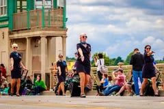 Парад 2016 Портленда грандиозный флористический Стоковое Изображение