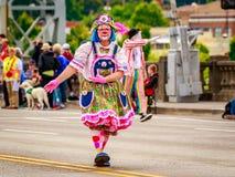 Парад 2016 Портленда грандиозный флористический Стоковая Фотография
