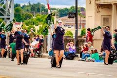 Парад 2016 Портленда грандиозный флористический Стоковое фото RF