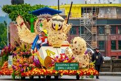 Парад 2017 Портленда грандиозный флористический Стоковая Фотография RF