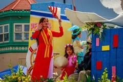 Парад 2017 Портленда грандиозный флористический Стоковое Фото