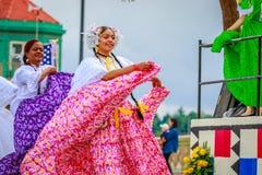 Парад 2017 Портленда грандиозный флористический Стоковая Фотография