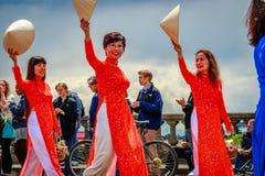 Парад 2017 Портленда грандиозный флористический Стоковые Фотографии RF