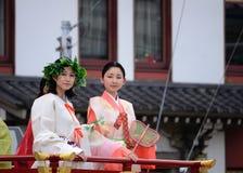 Парад принцесс фестиваля Gion Matsuri Стоковая Фотография RF