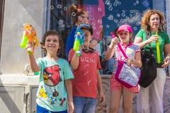 Парад 2015 пузыря Стоковое Фото