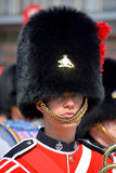 Парад солдата королевского 22nd полка Стоковое Фото