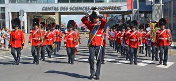 Парад солдата королевского 22nd полка Стоковая Фотография