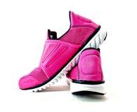 Пара спорта розовой повелительницы обувает 1 Стоковые Фото