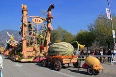 Парад столба турнира роз Стоковое Фото
