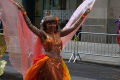 Парад 11 танца 2015 NYC Стоковое фото RF