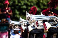 Парад духового оркестра Стоковое Фото