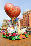 Парад характеров Диснейленда fairy Стоковое фото RF