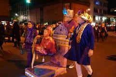 Парад 2015 хеллоуина деревни 62 Стоковое фото RF