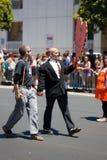 Парад 2012 гордости San Francisco голубой Стоковые Фото