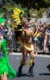 Парад 2012 гордости San Francisco голубой Стоковые Изображения