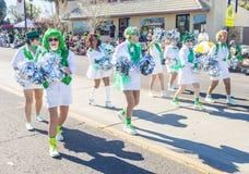 Парад Henderson St. Patrick Стоковое фото RF