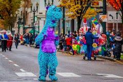 Парад 2016 Macy благодарения стоковое изображение rf