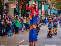 Парад 2016 Macy благодарения стоковая фотография rf