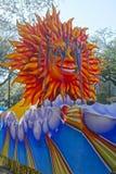 парад mardi gras поплавка Стоковое Изображение RF