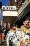Парад 2015 Mummers Стоковое Изображение