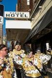 Парад 2015 Mummers Стоковые Изображения RF