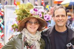 Парад 129 2015 NYC пасхи Стоковое Изображение RF