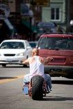 парень велосипедиста Стоковое Изображение