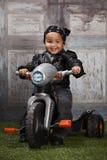 Парень велосипедиста Стоковые Изображения RF